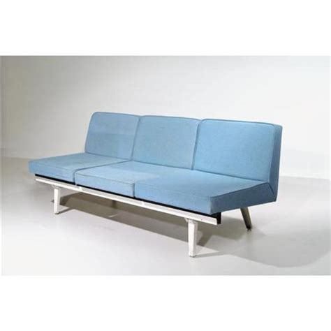 Steel Frame Sofa Leifur Contemporary Style Stainless Steel