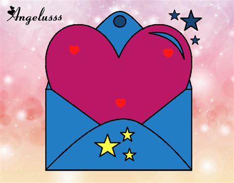 cuore con lettere disegno lettera con cuore colorato da utente non