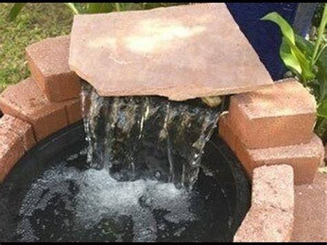 springbrunnen selber bauen springbrunnen im garten bauen