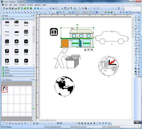 layout editor polygon visio like diagram drawing tool with vc source code