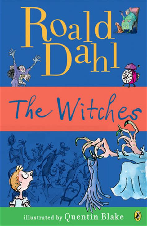 is a witch books the witches by roald dahl