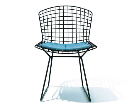 Chair With Seat by Bertoia Side Chair With Seat Cushion Hivemodern