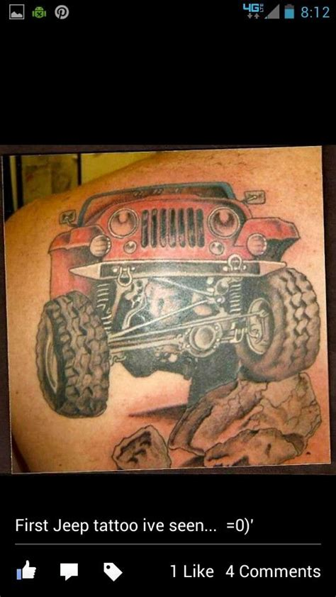 jeep tattoo pictures 17 best images about jeep tattoos on pinterest jeep
