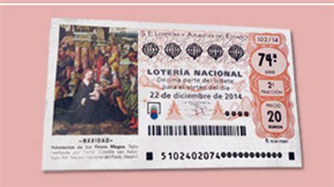 imagenes loteria navidad 2014 loter 237 a de navidad 2014 el d 233 cimo de este a 241 o tiene una