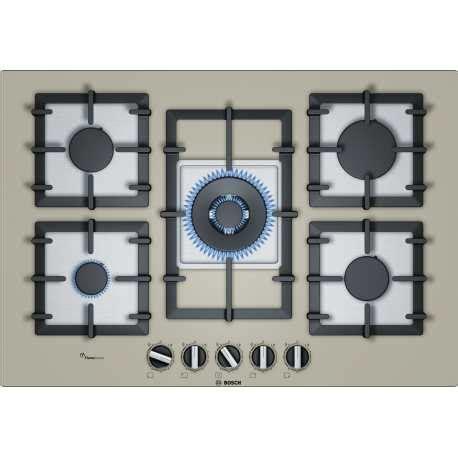 piano cottura cristallo piano cottura bosch ppq7a8b90 cristallo chagne 75 cm