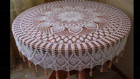 manteles tejido a crochet con tela mantel en crochet para principiantes youtube