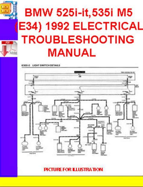 service manual pdf 1992 bmw m5 wire diagram bmw ews 3 wiring diagram 24 wiring diagram bmw 525i it 535i m5 e34 1991 1992 electrical troubleshooti down