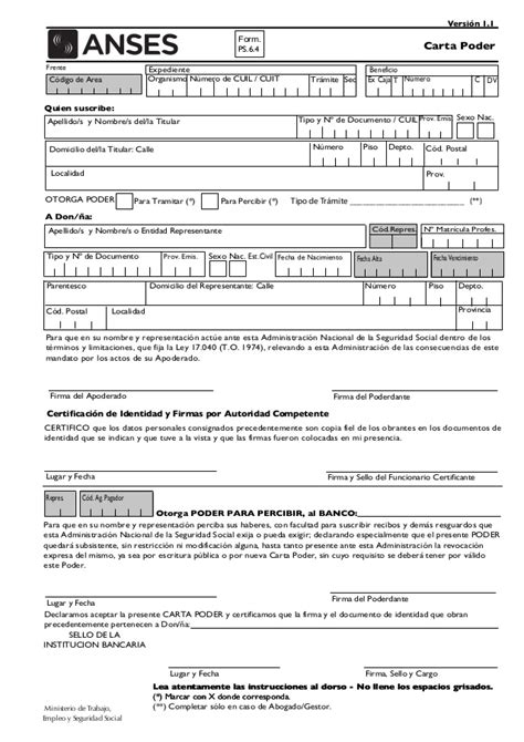 formulario 1 47 imprimir formulario 1 47 de anses formulario anses scribdcom anses