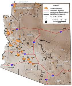 blm az wilderness areas map