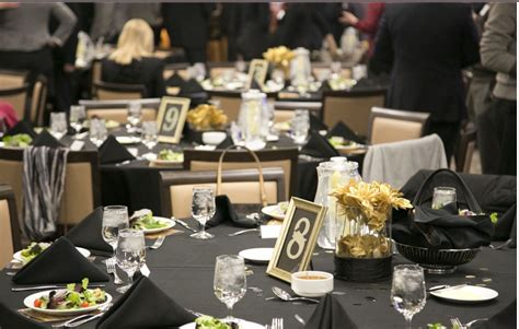 Black And Gold Table Decorations by A Of Brandi That Time I Made 20 Centerpieces In 2