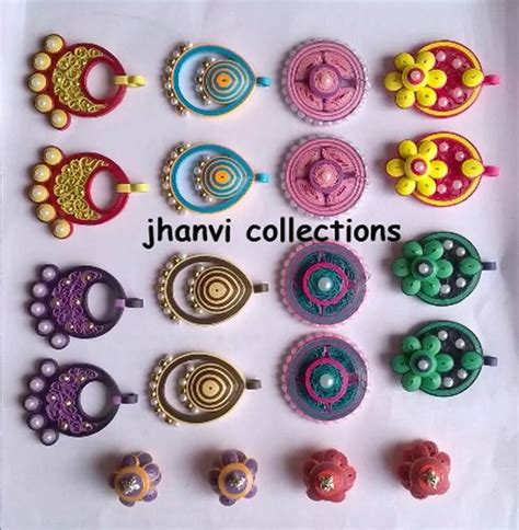 Paper Craft Jewellery - 501 best quilling paper bead earrings 3 images on