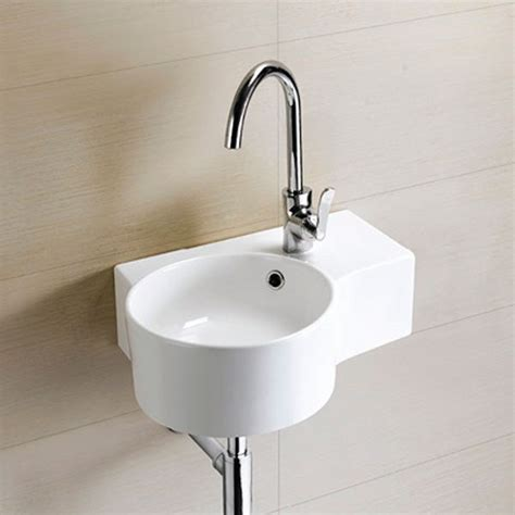 hand basins for bathrooms strava left hand wall mounted basin
