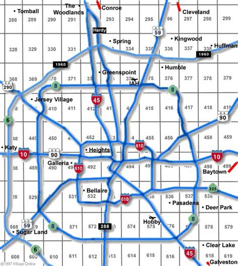 houston key map key maps houston indiana map