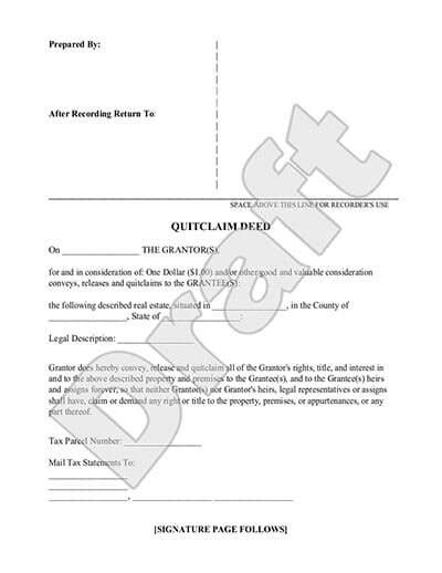 sle authorization letter for quit claim quitclaim deed form free quitclaim deed template with