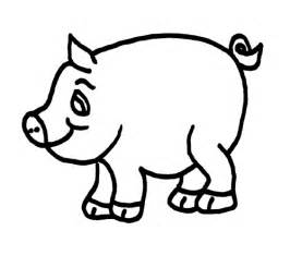 coloring pages pig