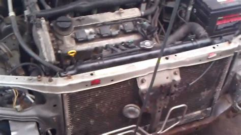 Nissan Maxima Lower Radiator Support Project March 28