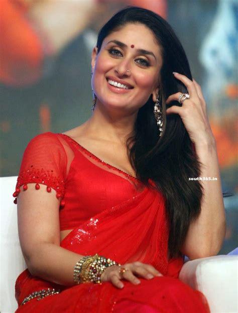 film india karena kapor hot bollywood heroine kareena kapoor in red saree blouse at ra