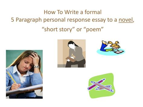 how to write a personal response paper how to write a personal response essay