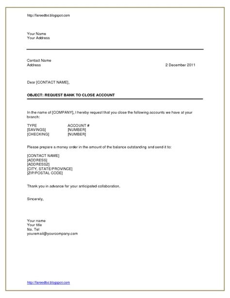 Loan Closure Request Letter To Bank Closing Statement For Letter Images