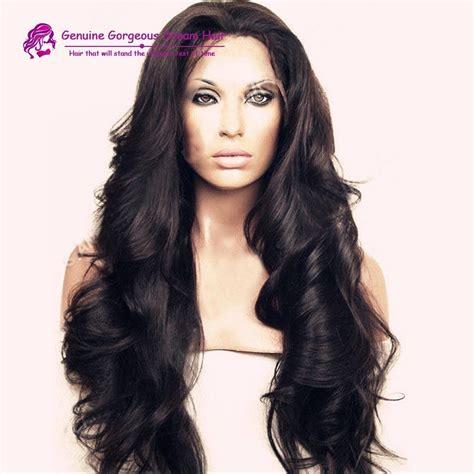 wigs for heavy women heavy density human hair wig 300 density lace front wig