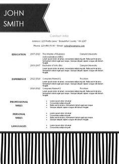 101 free printable resume templates that can be edited in word instant modern