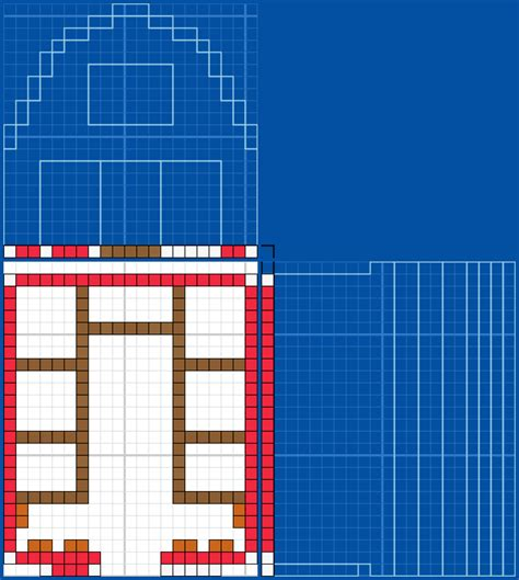 House Blueprint by Red Barn 2 Grabcraft Your Number One Source For Minecraft Buildings Blueprints Tips Ideas