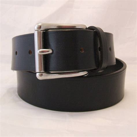 Leather Belt Handmade - handmade kilo leather belt by tbm the belt