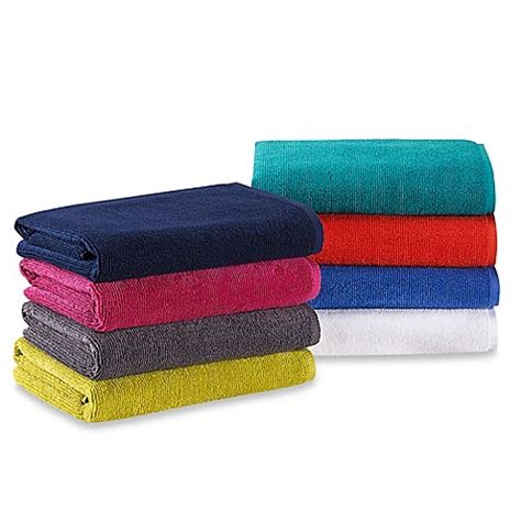 bed bath beyond towels anthology solid piece dyed bath towel collection bed