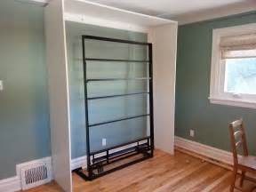 renovations and old houses diy ikea murphy bed wood