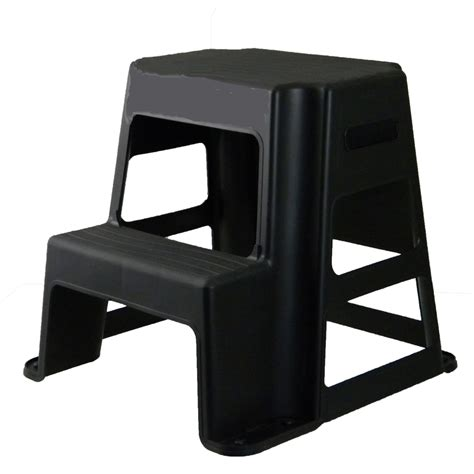 shop centrex plastics llc 2 step plastic step stool at