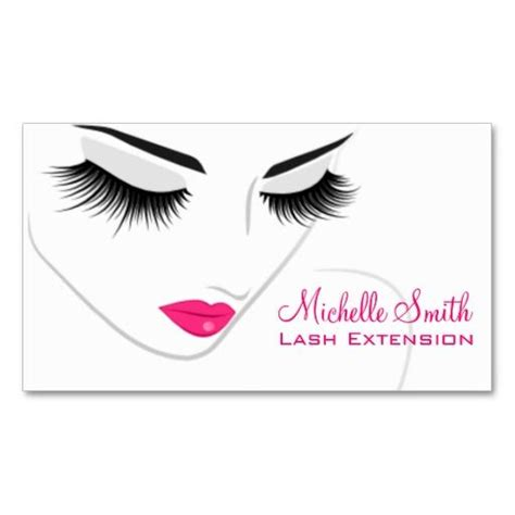 Lash Extension Business Cards lashes lash extension business card hair and