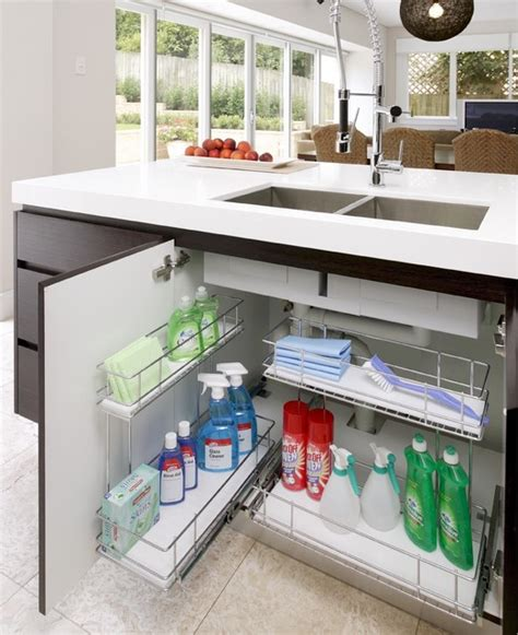 kitchen sink storage ideas kitchen storage ideas baskets sydney by tansel