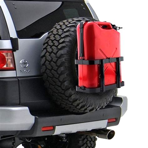 jeep gas can rack smittybilt 174 2798 jerry gas can holder
