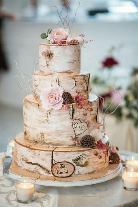Hochzeitstorte Holz by 47 Besten Hochzeitstorten Bilder Auf