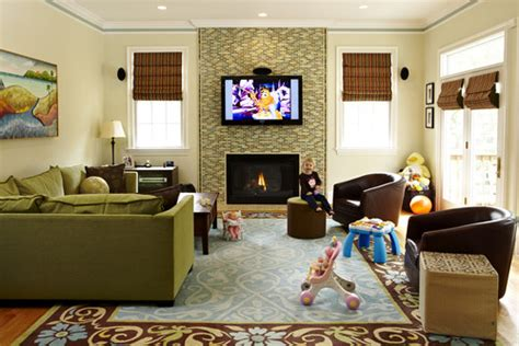 Kid Friendly Family Room | 5 ways to create a kid friendly family room home stories