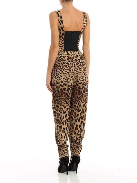 Dolce Jumpsuit dolce gabbana leo print silk jumpsuit jumpsuits