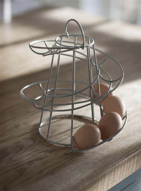 garden trading helter skelter 12 egg run storage flint grey