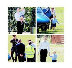 see prince george with uncle harry en route to the queens prince george and nanny maria see uncle harry off in his