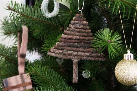 twig tree ornament easy christmas diy
