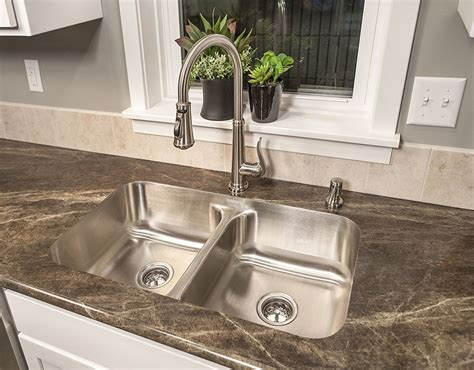 Undermount Sink Tile Countertop by Undermount Kitchen Sinks Ultra Modern Stainless