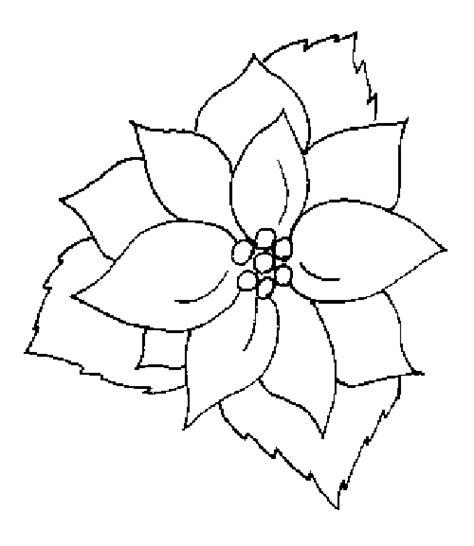 dibujos para pintar de navidad free coloring pages of flor 4 petalos