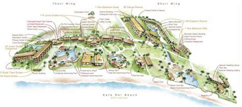 katathani resort map hotel location katathani phuket resort