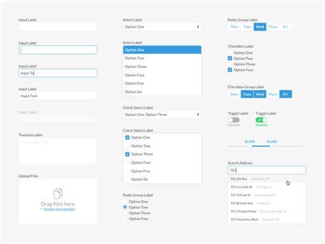 layout form elements basic form elements sketch freebie download free