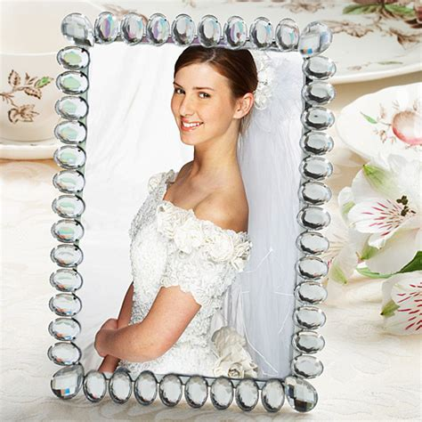 bridal shower favors picture frames 40 bling collection picture frame wedding bridal shower