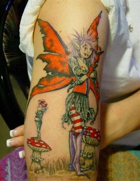 Gothic Fairy Tattoo Pictures To Pin On Pinterest Tattooskid | gothic fairy tattoo designs pinterest
