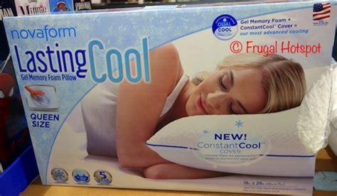 novaform core comfort memory foam pillow pillow frugal hotspot