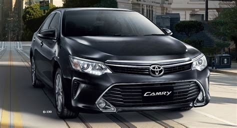 Toyota Certified Used Cars Thailand 2015 Toyota Camry Facelift Range Launched In Thailand