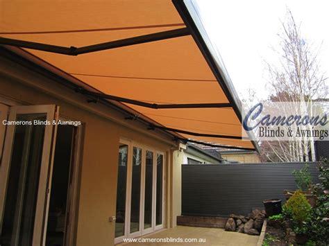 foldable awning camerons blinds awnings folding arm awnings