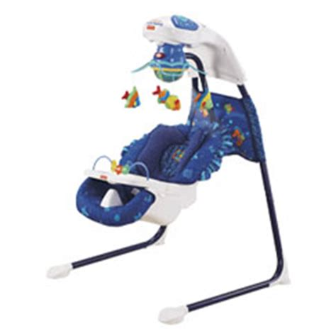 fisher price ocean swing fisher price ocean wonders aquarium cradle swing