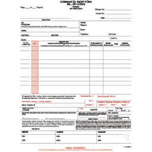 bill of lading template canada hazmat bills of lading laser packages of 100 bill of